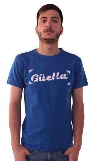 Logo Güella Azul Blanco