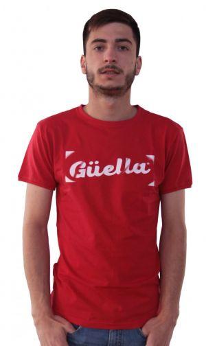 Logo Güella Roja Blanco